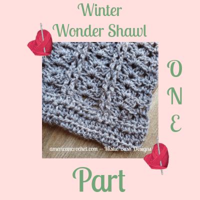 Winter Wonder Shawl Part One