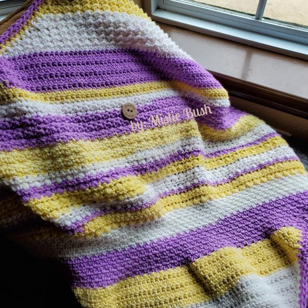 Frosty Kisses Blanket Part Complete | American Crochet @americancrochet