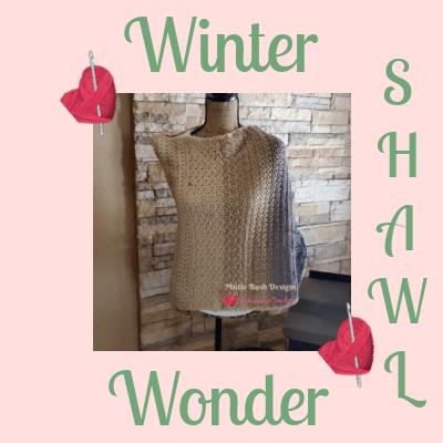 Winter Wonder Shawl Complete