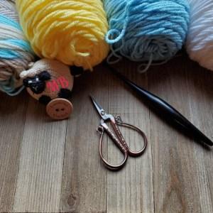 Happy Throw Two Part One | American Crochet @americancrochet.com