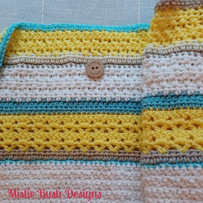 Happy Throw Two Part Five | American Crochet @americancrochet