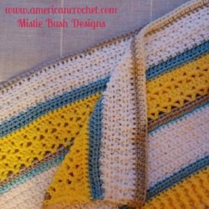 Happy Throw Two Part Four | American Crochet @americancrochet