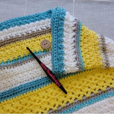 Happy Throw Two Part Six | American Crochet @americancrochet