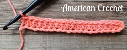Half Double Crochet Front 2 Loop Cluster | American Crochet @americancrochet.com