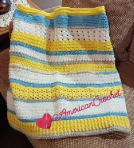 Happy Throw Two Part Ten | American Crochet @americancrochet