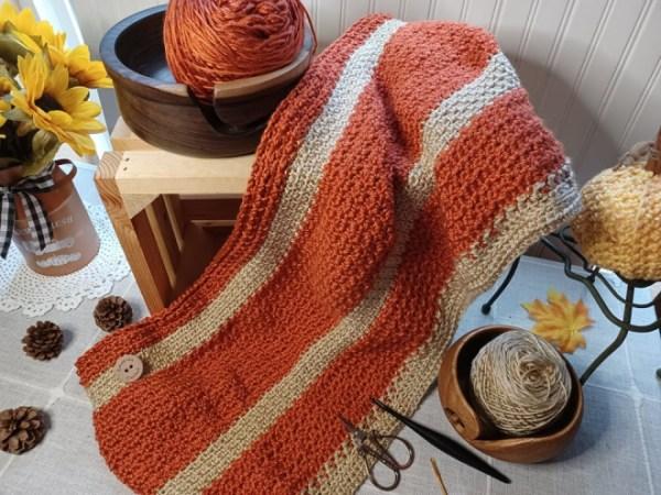 Happy Throw Three ~ Part Five | American Crochet @americancrochet.com