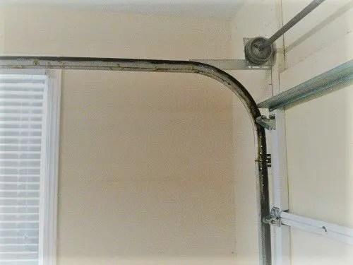 garage door maintenance mechanism inside