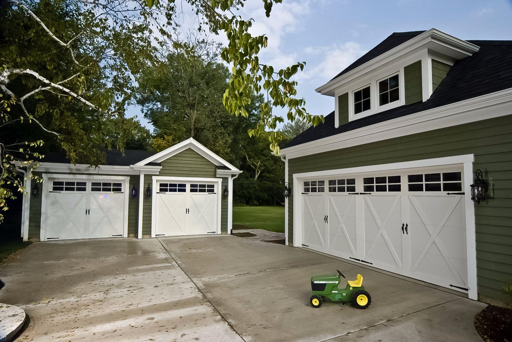 Garage Door Overlay  Overlay Carriage House St Cloud MN  ADW