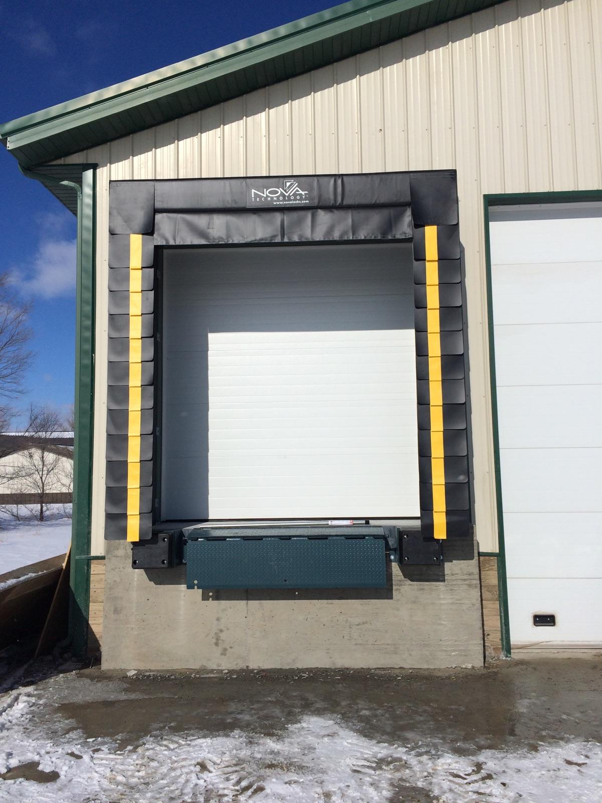 Loading Dock Door Seals  Shelters St Cloud MN  ADW