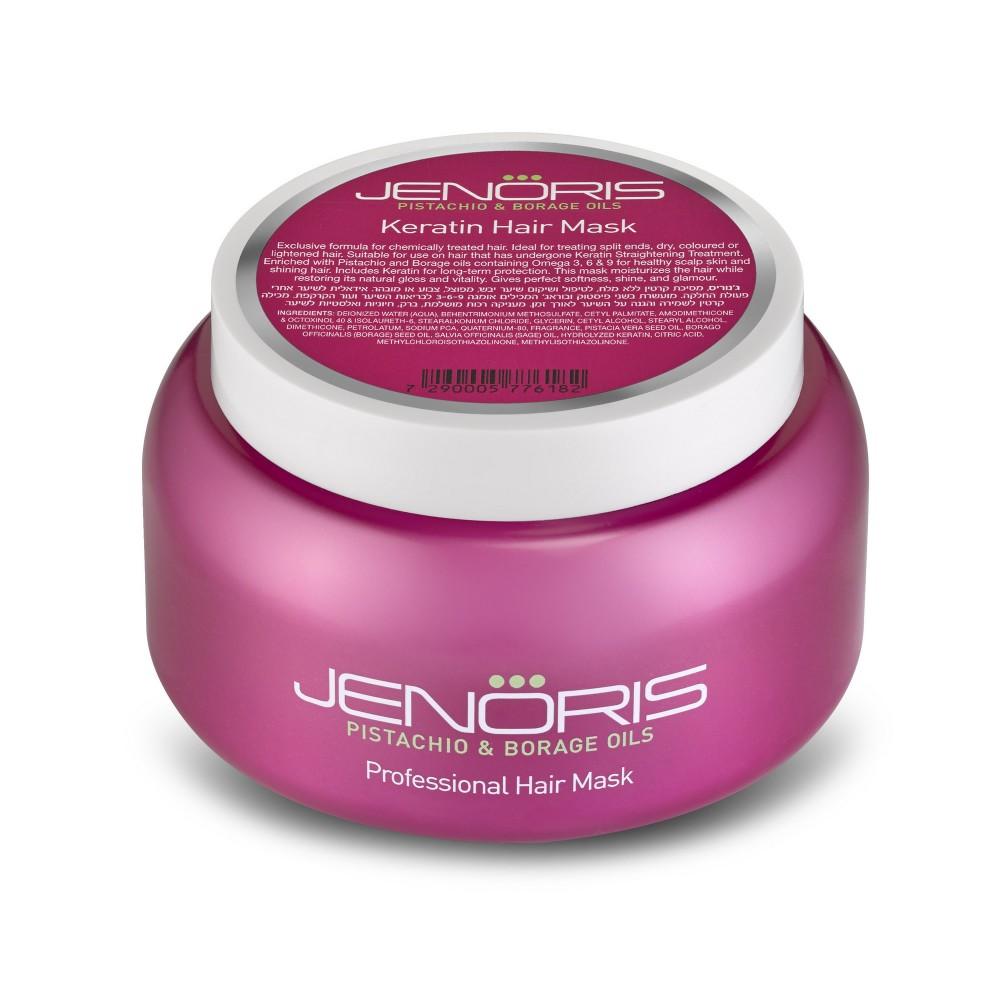 Jenoris Keratin Hair Mask 500ml At American Dream Extensions