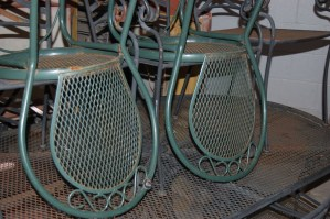 refinish outdoor furniture restore vintage furniture