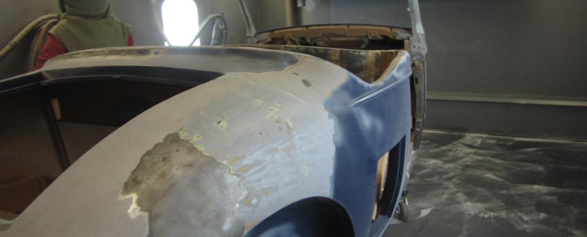 restoration Pierce Arrow Blasted July 2013 American Dry Stripping
