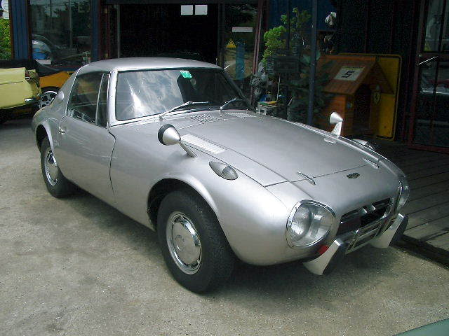 An example of a 1966 Toyota Sports 800 from AutoTraderClassic.