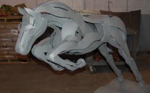 Marcia Spivak Equine sculpture