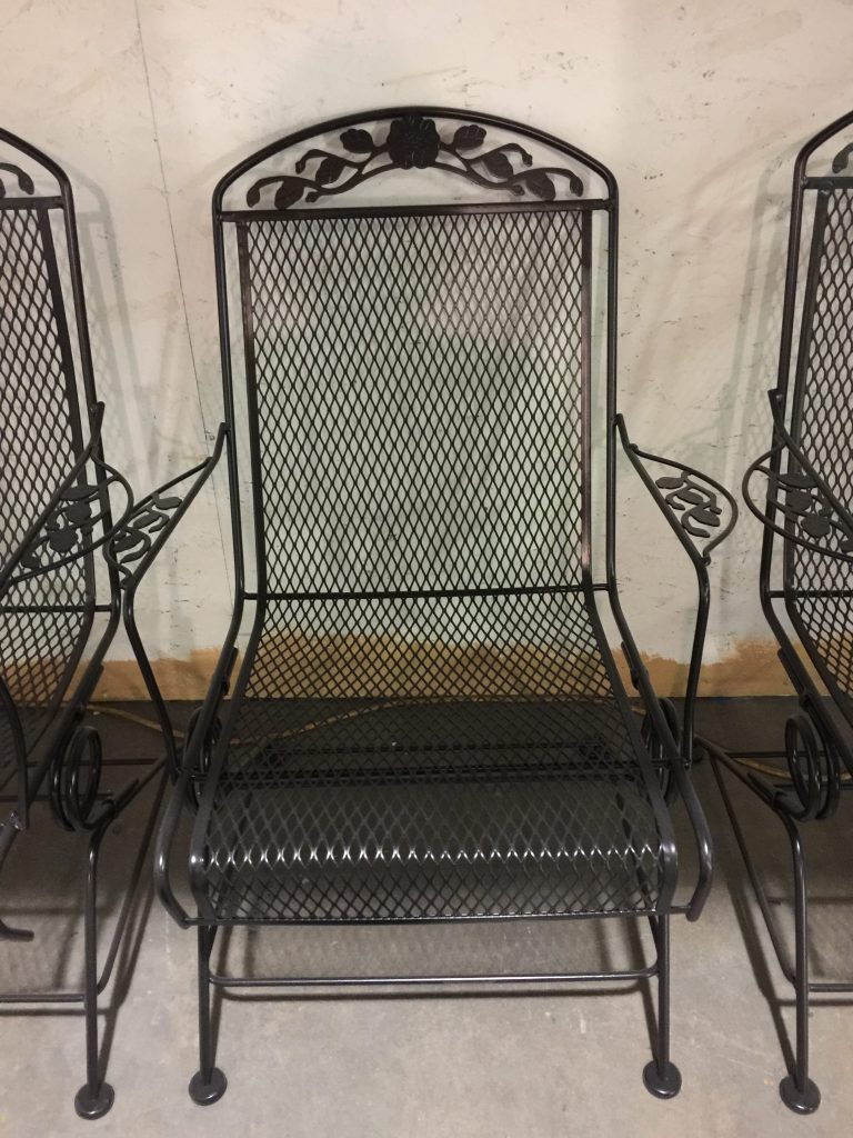 Powder coating vintage Patio furniture Xtreme Temperature coatings CT