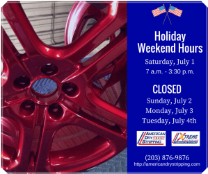 American Dry Stripping Fourth of July Hours 2017