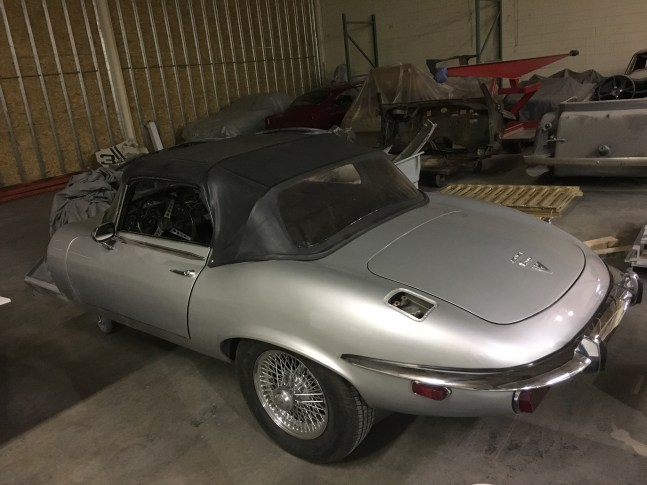 Jaguar XKE restoration