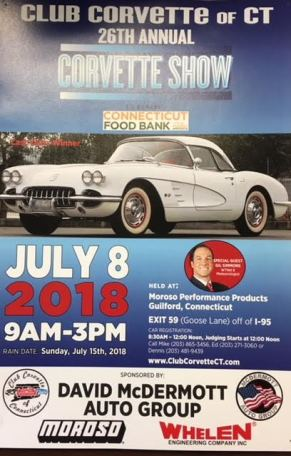 Club Corvette Show 2018 ADS