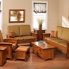 Living Room Furniture Wood Finance Usa Made Solid Browse American Sets