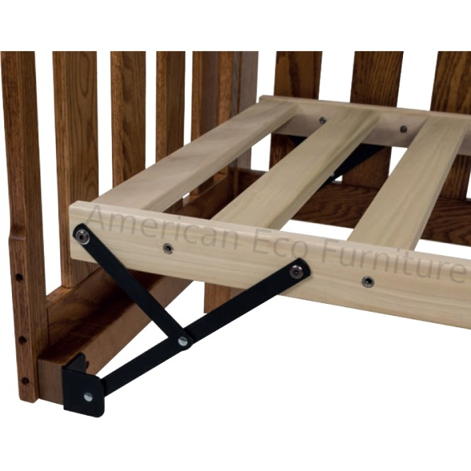 Real Wood Cribs Solid White Baby Crib Made In Usa Canada