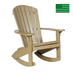 Newport Rocking Chair Swing With Stand Beach Adirondack Rocker Made In Usa American Eco Furniture Twin Poly