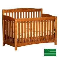 Monterey Convertible Baby Crib Made in USA | Solid Wood ...
