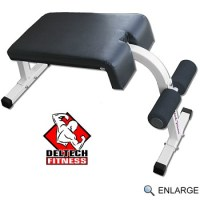 Deltech Fitness Roman Chair / Sit-up Bench