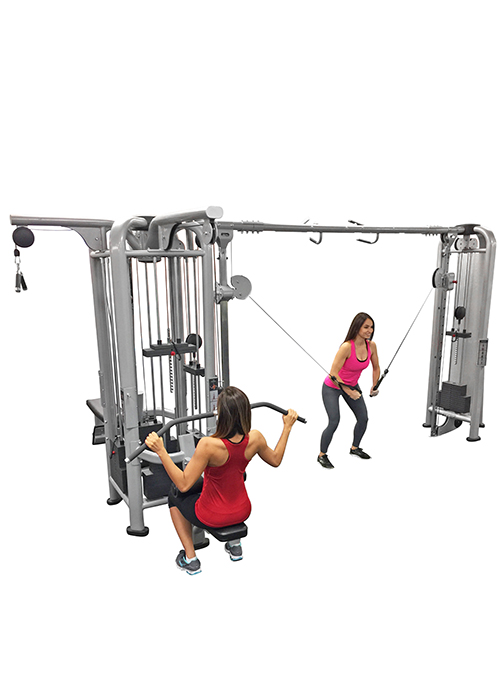 Muscle D Deluxe 5 Stack Jungle Gym