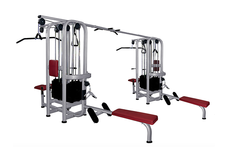 Muscle D Standard 8 Stack Jungle Gym