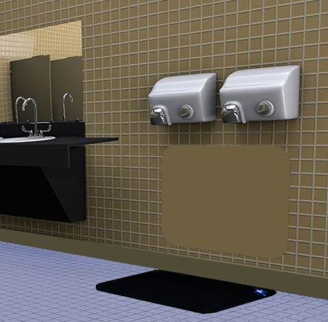 disposable hand dryer mats are hygienic hand dryer mats by