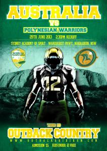 Australian National Team v. Polynesian Warriors