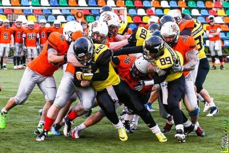 Nizhny Novgorod Raiders 52 v. Moscow Patriots