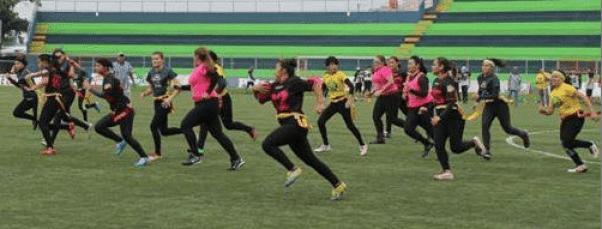 Women's Flag  Barbarians vs Celtas ASFA