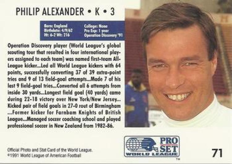 London Monarchs - phil alexander2