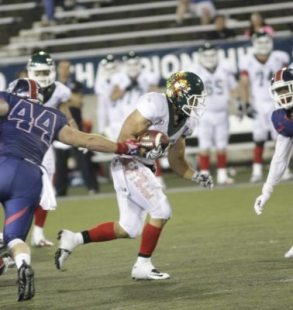 IFAF WCs - Mexico v USA
