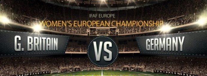 IFAF Europe - Womens EC GB v Germany