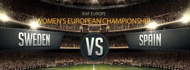 IFAF Europe - Womens EC - Swe-Spain