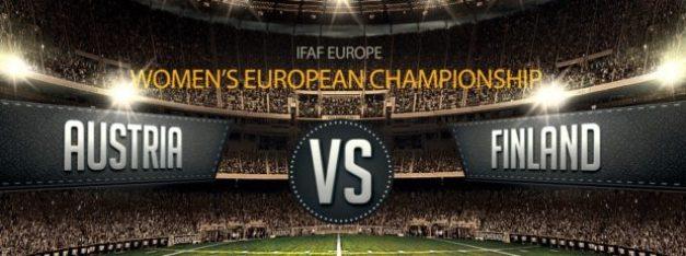IFAF Women's ECs - Austria v Finland poster