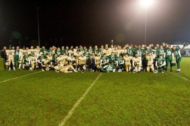 Great Britain - Bury Saints - Movember Bowl 2014