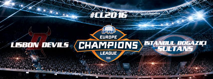 IFAF Europe - CL 2016 - Lisbon-Istanbul banner