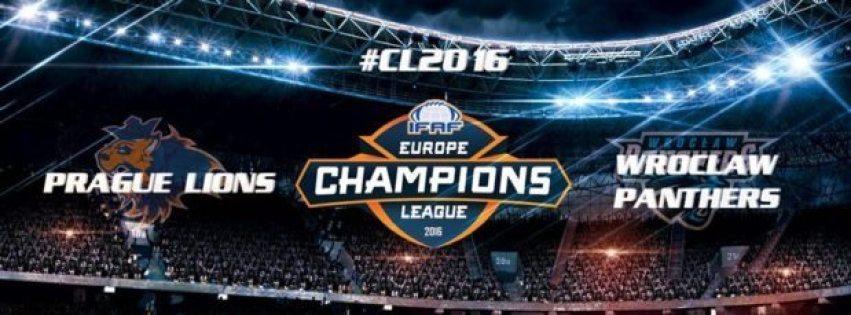 IFAF Europe - Prague Lions-Panthers poster 2016