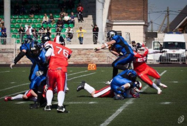 Russia - Griffins action 2016