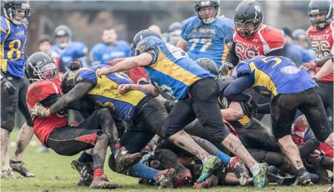 UL tackling in numbers. Photography by Keith Elgin