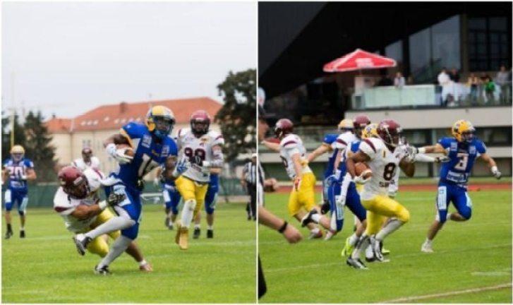 CEFL - Graz-Vukovi - 2016 title game - 2pic
