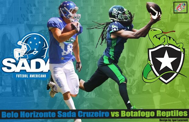 LIVESTREAM: Brazil – Botafogo Reptiles @Sada Cruzeiro Sat. Oct. 14 5:30p (6:30p EDT, 12:30a Oct. 15 CEST) - American Football In