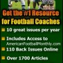 American Football Monthly The Magazine For Football Coaches