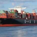shipping containers representing tariffs