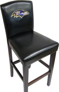 PUB STYLE COUNTER CHAIR NFL GIANTS RAIDERS EAGLES PATRIOTS ...