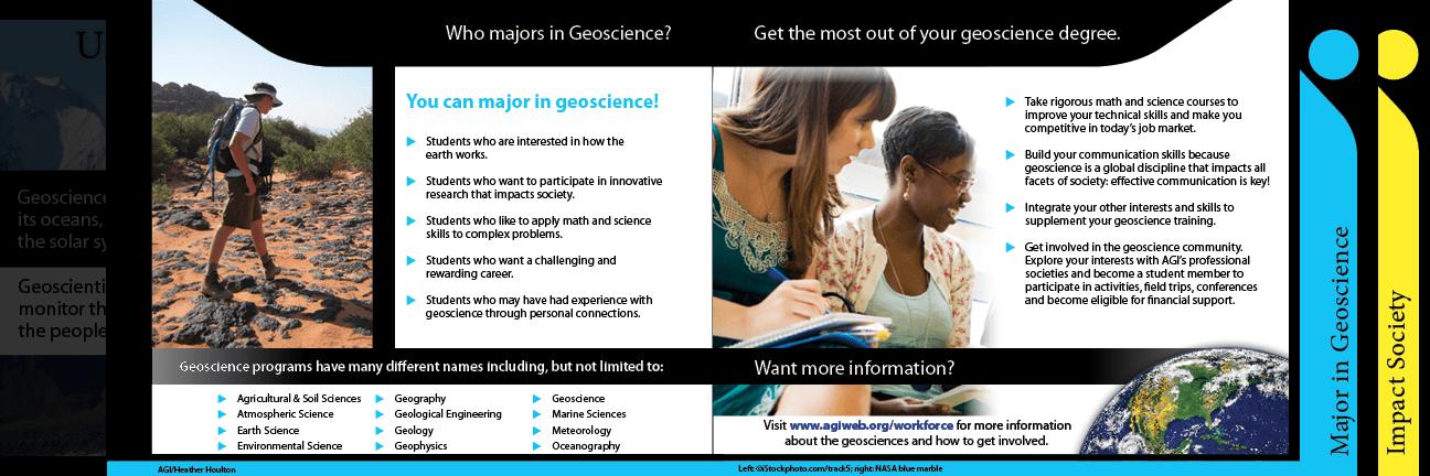 Geoscience Careers Brochure  American Geosciences Institute