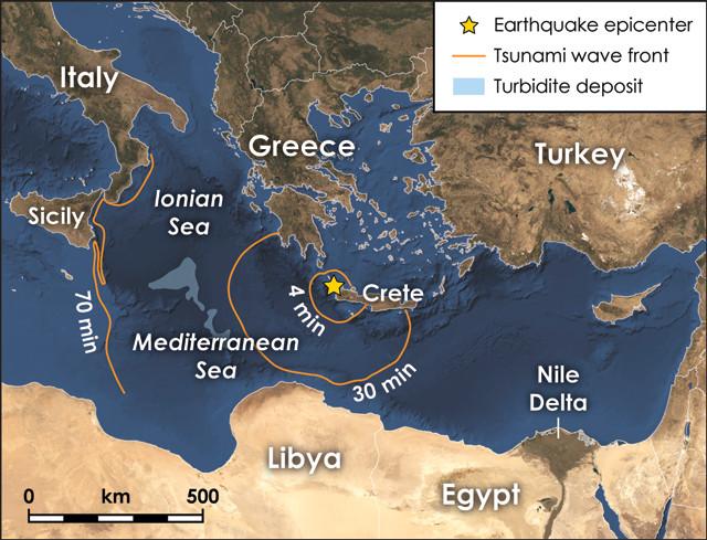 Νέα στοιχεία για τον ισχυρότερο σεισμό της Μεσογείου στην Κρήτη το 365 μ.Χ. - vetonews